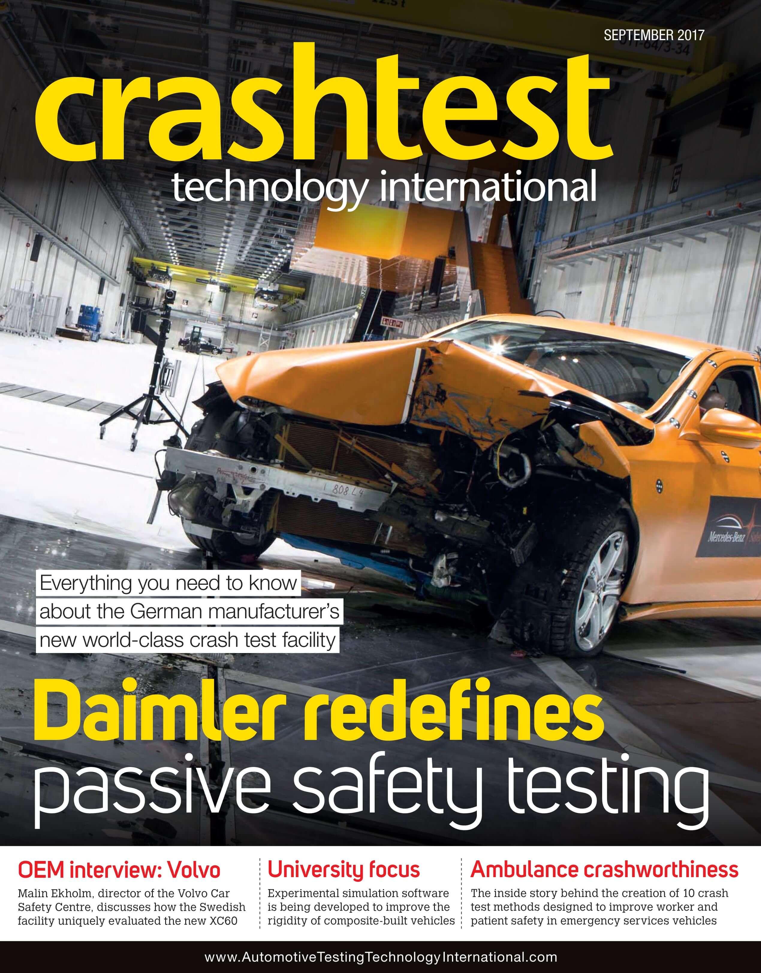 Mike Ashmead talks Crash Test Dummies in Crash Test Technology ...