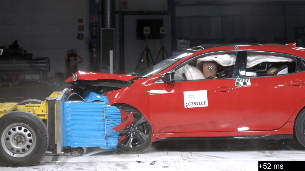 Cellbond MPDB Frontal Impact Test Euro NCAP 2020
