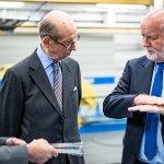 Cellbond royal Visit paul Cope Patrick Gay HRH Duke of Kent