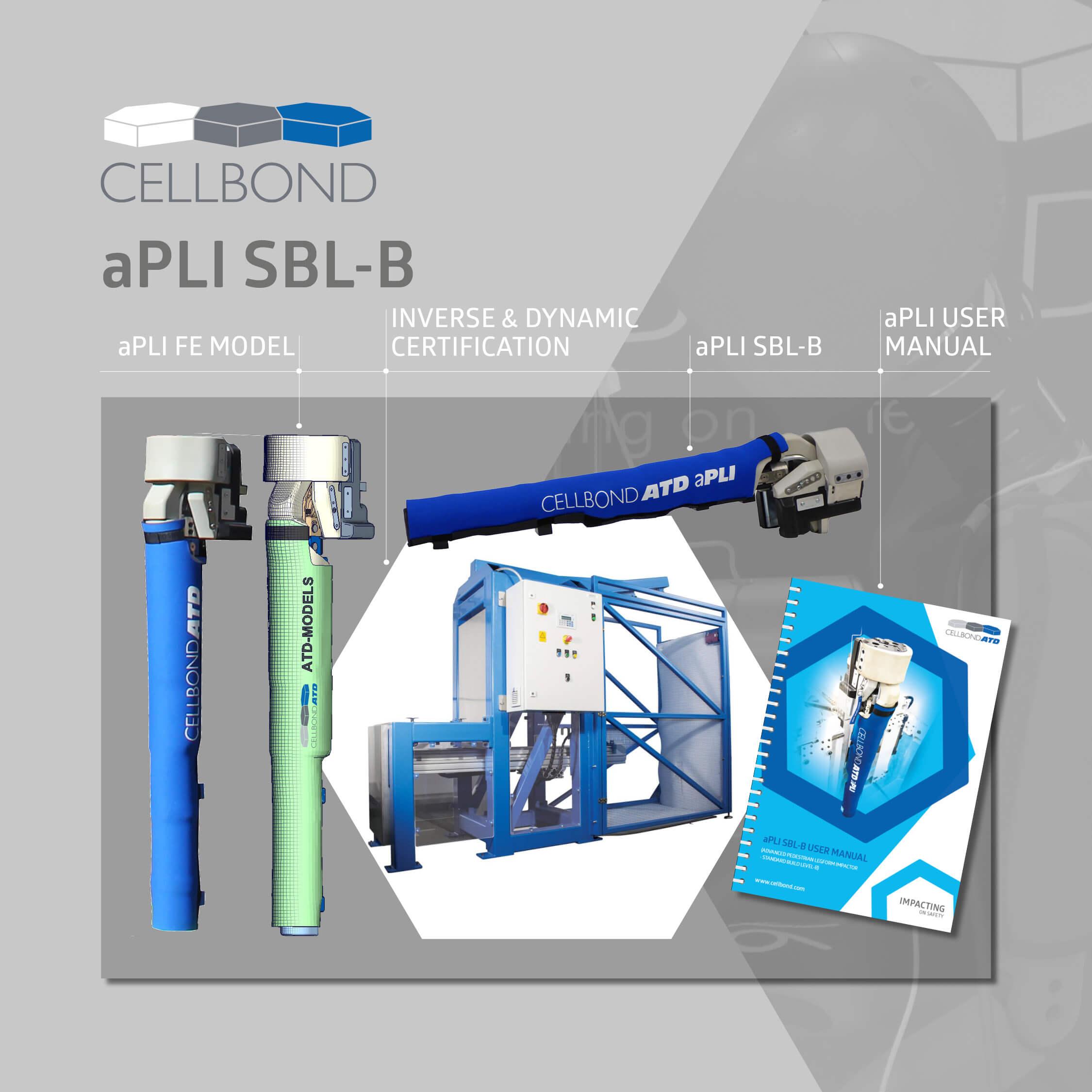 aPLI SBL-B advanced Pedesrtian Legform Impactor