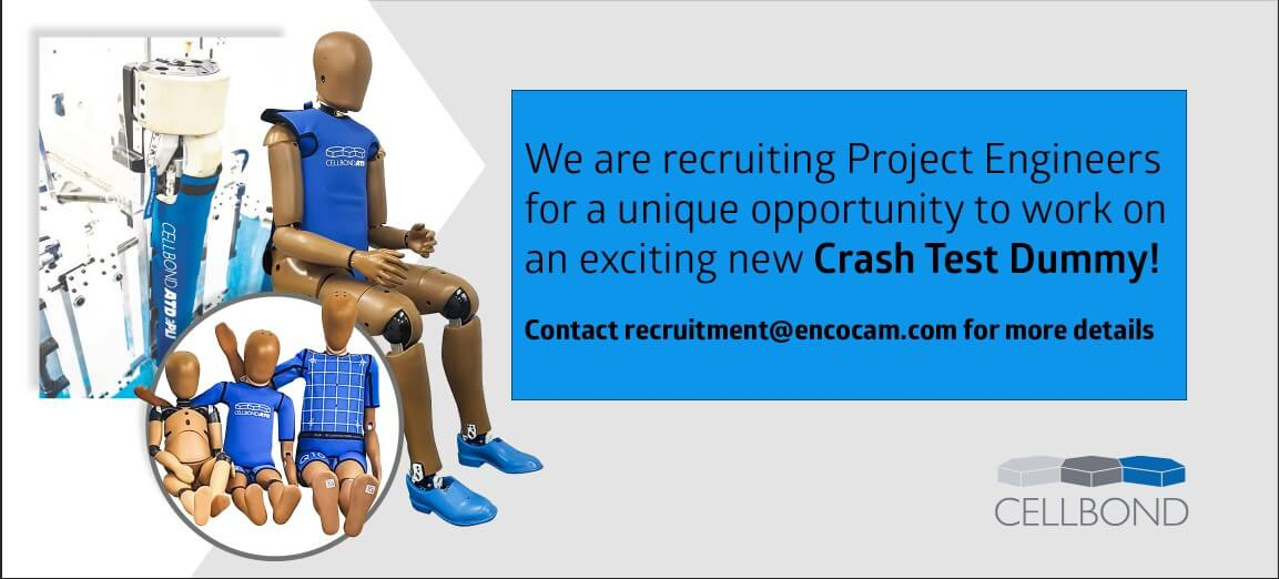 project Engineer jobs with crash test dummies